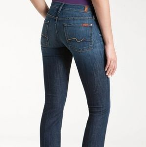 7 FOR ALL MANKIND Nouveau New York Dark jeans